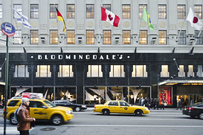 The shopping mecca of Bloomingdale's.