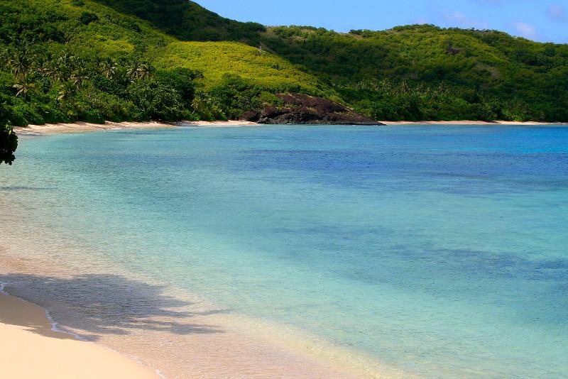 Tropical island, Fiji, South Pacific