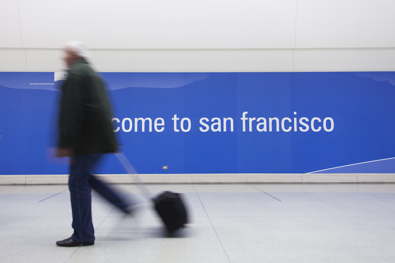 Welcome to San Francisco.