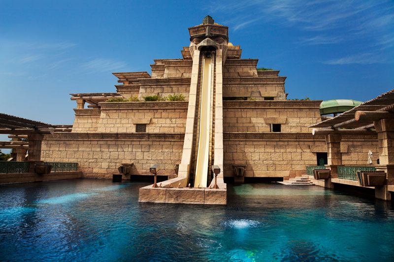 Water park in Dubai