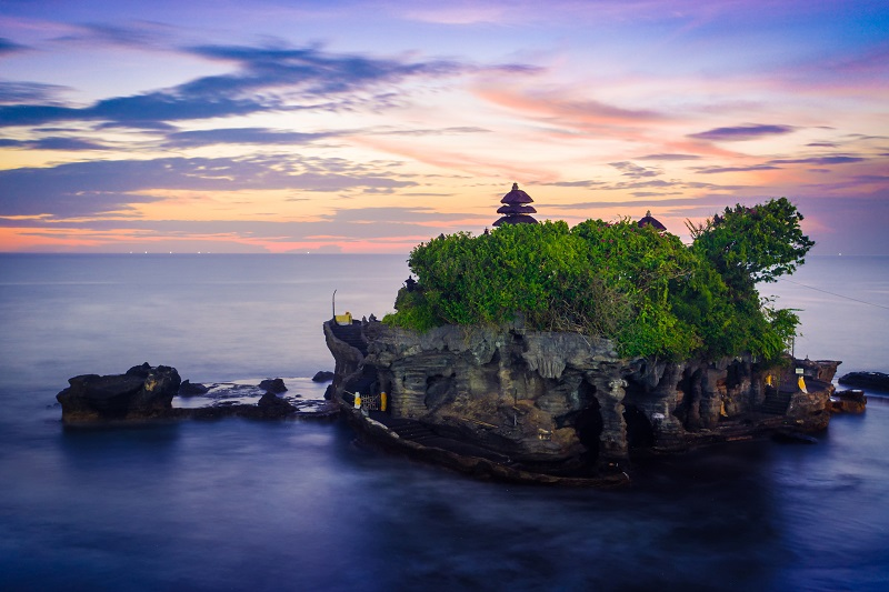 Stunning views like this are the norm in Bali.