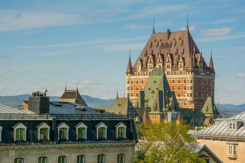 Chateau Frontenac Hotel,Old Quebec City, Canada