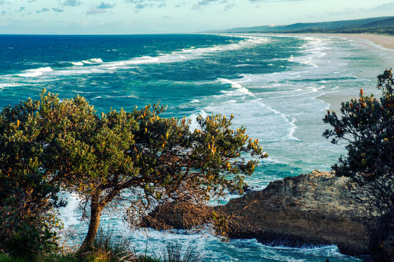 View from Point Lookout on North Stradbroke Island