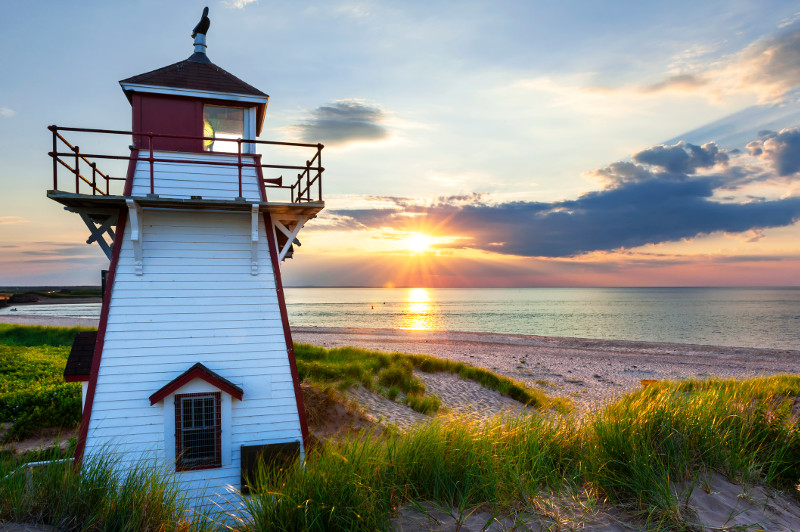 Covehead Harbour Lighthouse, Prince Edward Island Canada
