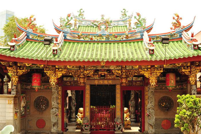 Tan Si Chong Su temple singapore