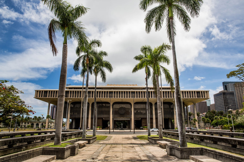 State Capitol Building Hawaii