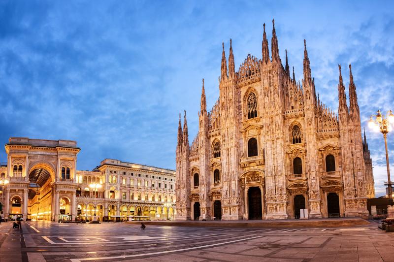 Milan Cathedral, the Duomo di Milano
