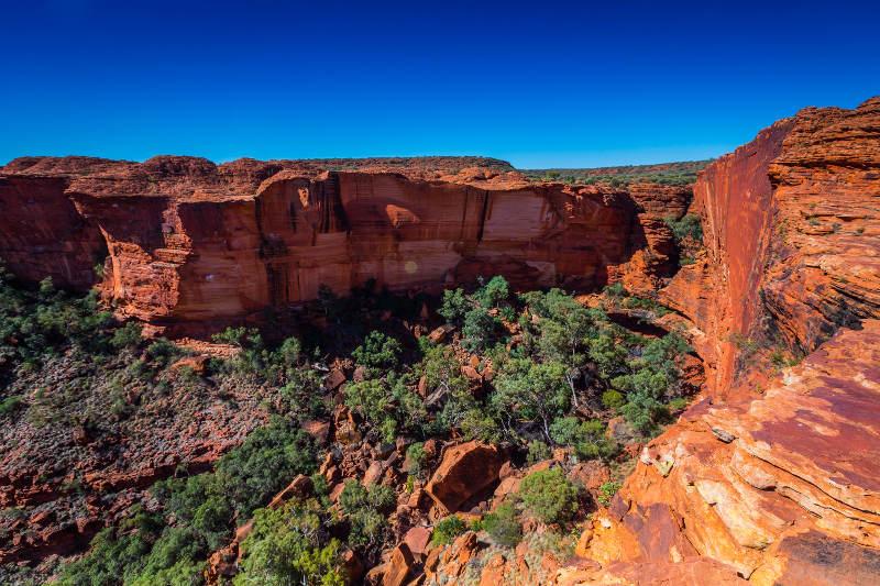 kings canyon full daylight