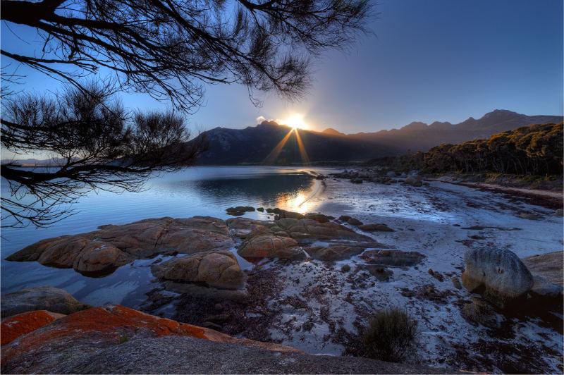 strzelecki ranges sunrise