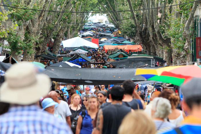 street market montevideo