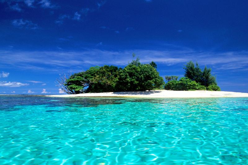 Island off coast of Papua New Guinea