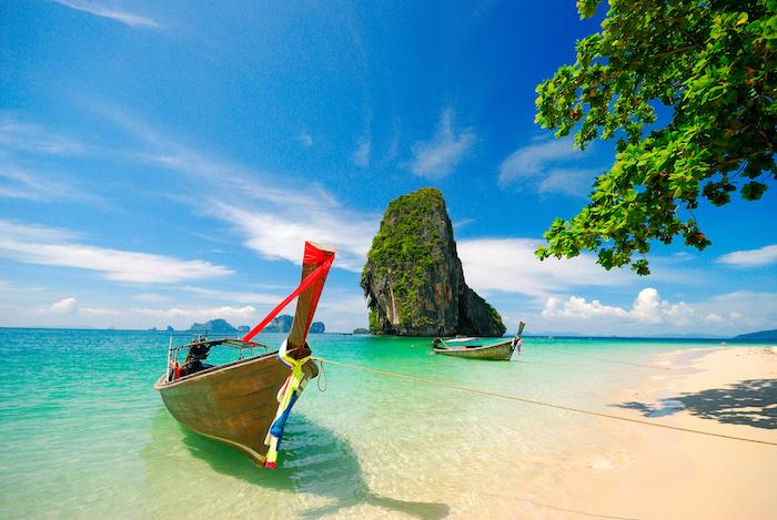 a beautiful sunny day in Krabi