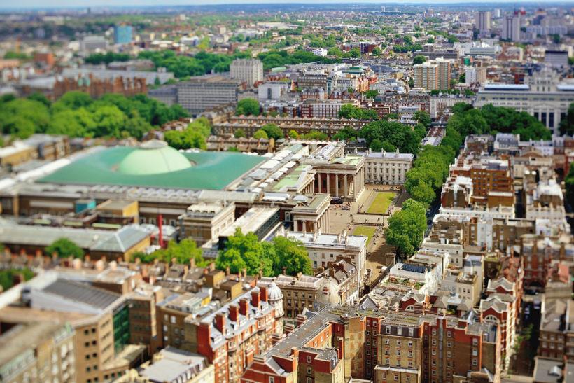 British Museum aerial view