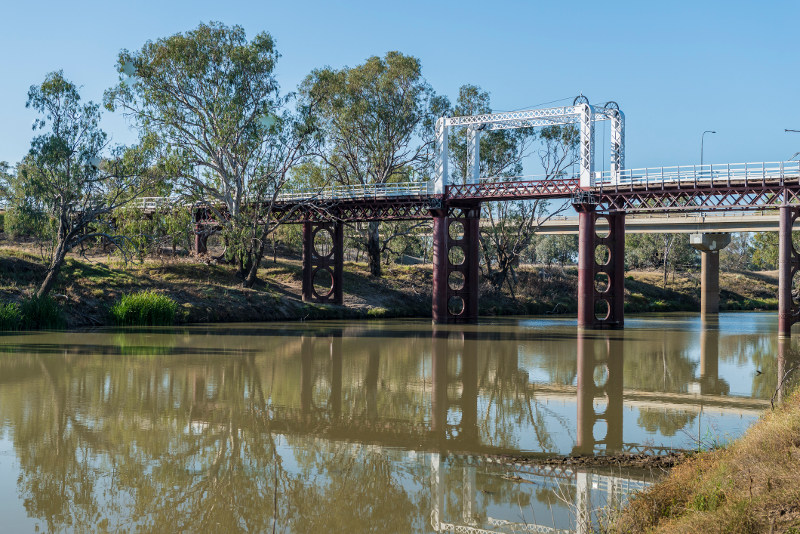 Old Bourke Bridge New South Wales