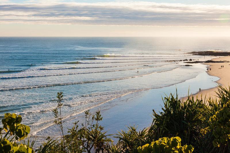 Snapper Rocks, Gold Coast, Queensland, Australia