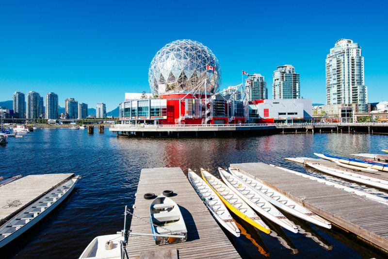 Vancouver Harbour in summer