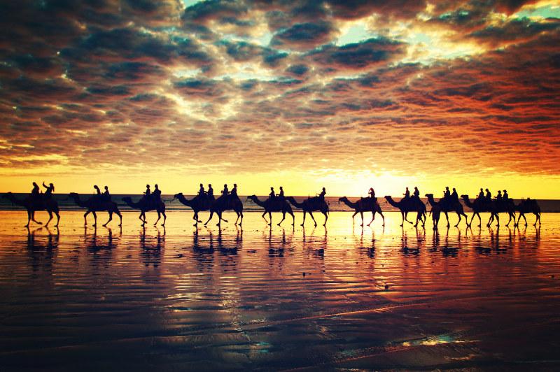 Cable Beach, Broome Western Australia