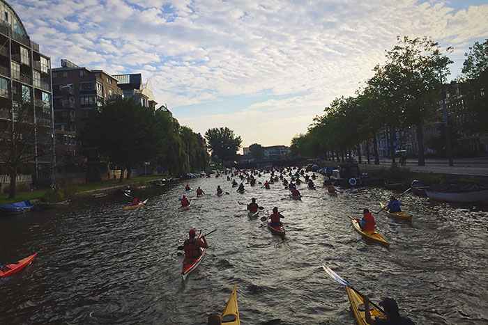 kayaking amsterdam