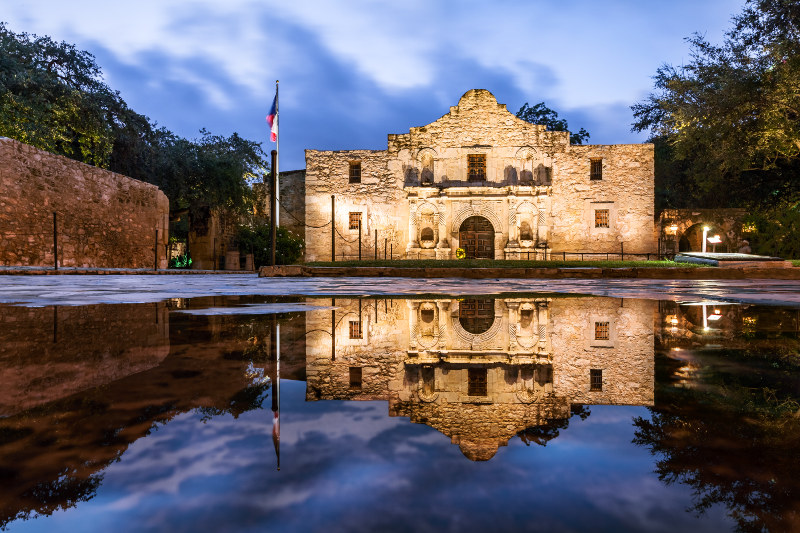 The Alamo Chapel, Texas, USA