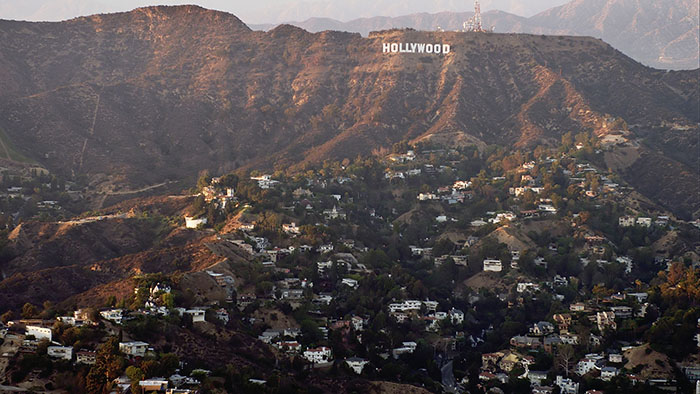 no trip to LA is complete without seeing the hollywood sign