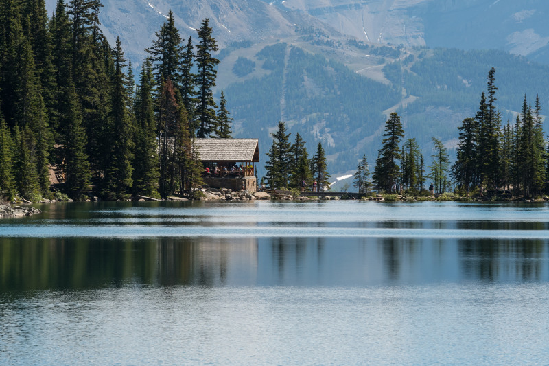 Lake Agnes Tea House, Canadian Rocky Mountains