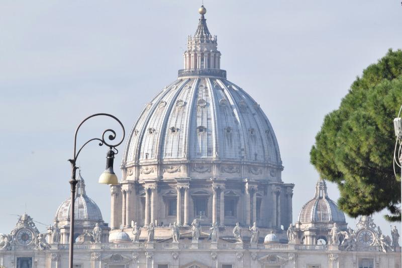 St Peter's Basilica, Vatican City.