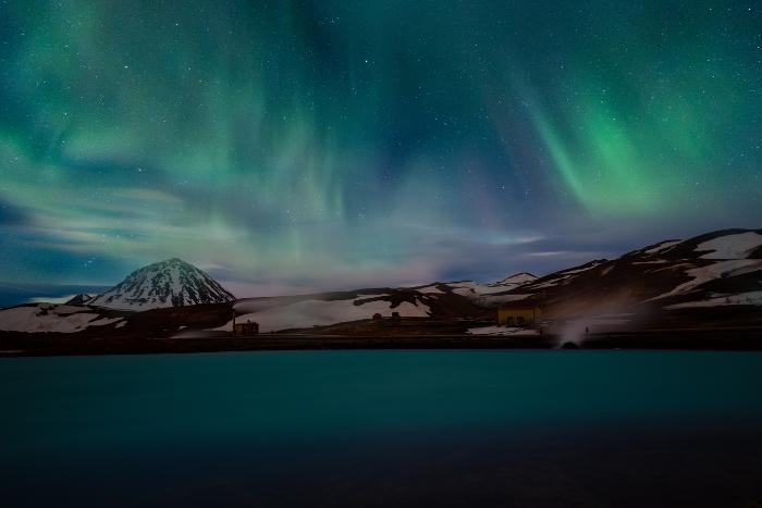 northern lights northern canada