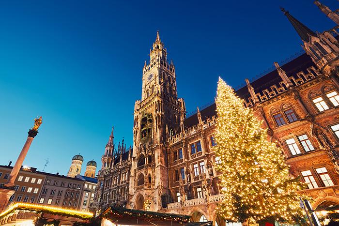 Christmas market trail - Munich