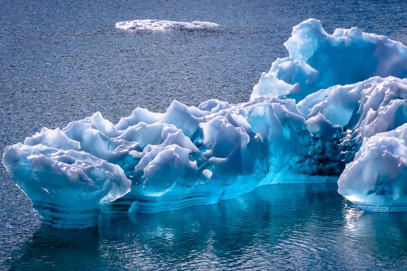 glacial ice, Glacier Bay National Park, Canada
