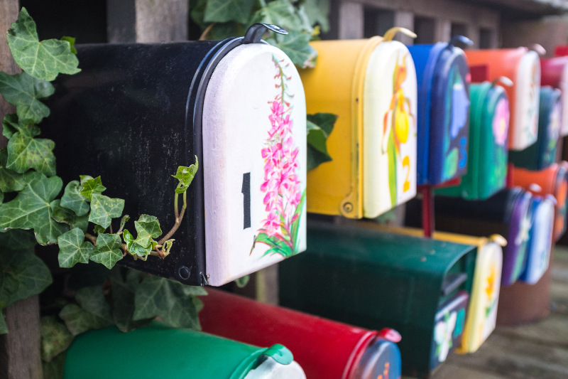 Mailboxes on Granville Island, Vancouver