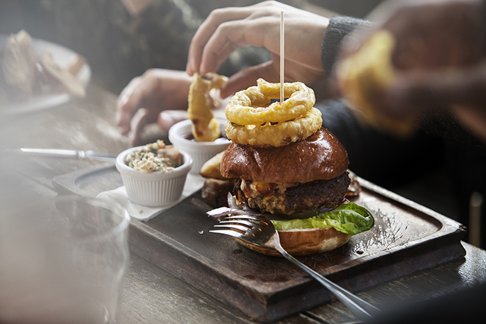 British pub food has evolved with modern cuisine