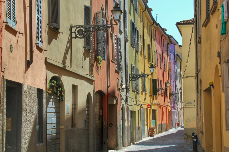 Laneway in Parma, Italy