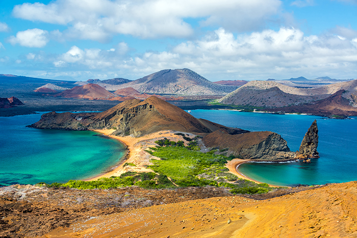 The Galapagos Islands is one of the world's natural wonders.