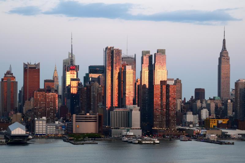New York city skyline, United States