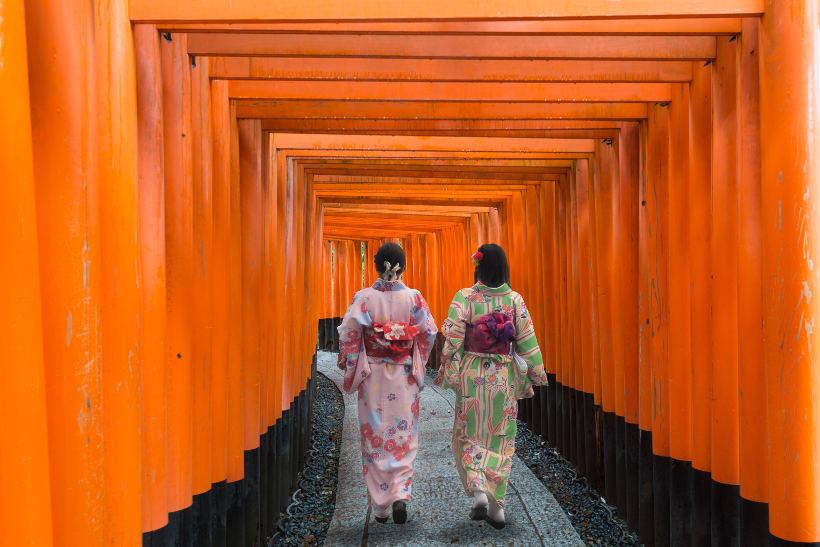 fushimi inari taisha shine kyoto