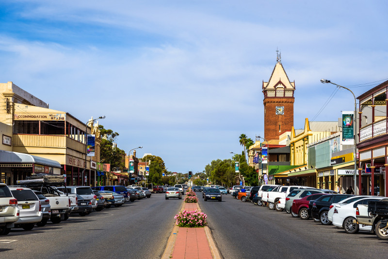 Main street Broken Hill