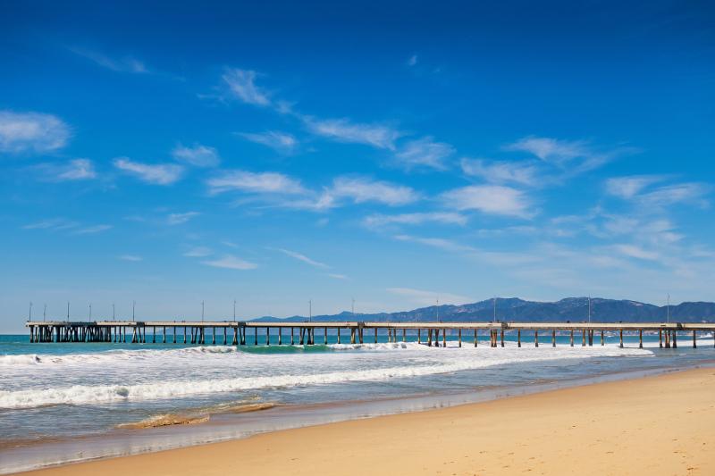 Venice Beach fishing pier, Los Angeles, California