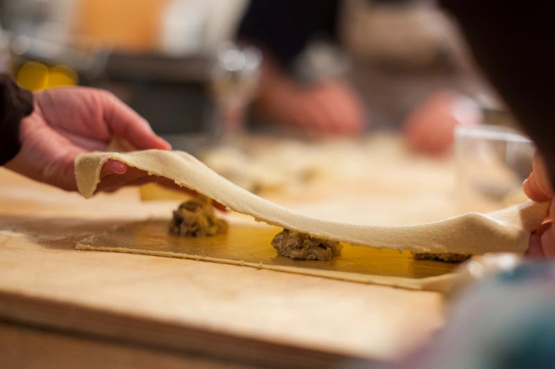 pasta making, Tuscany, Italy, Europe