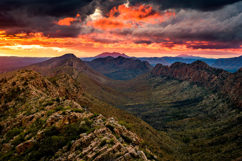 West Macdonnell Ranges, australia