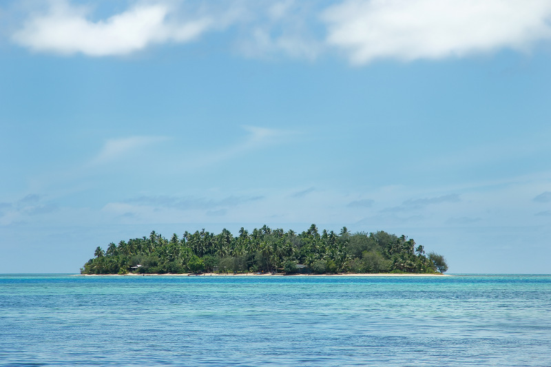 A small south pacific island