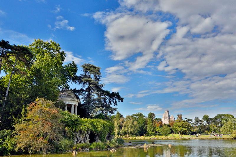 Parc de Belleville, Paris
