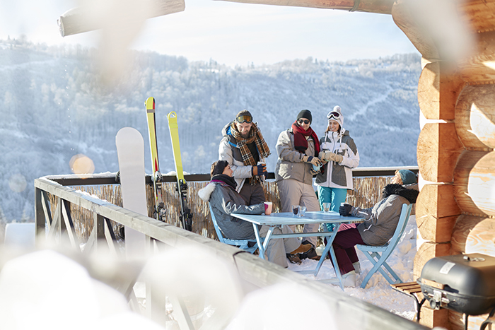 apres ski is the best part of a ski holiday