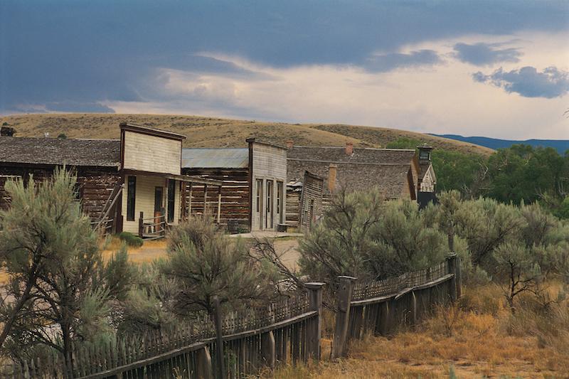 Montana Ghost Town Bannack