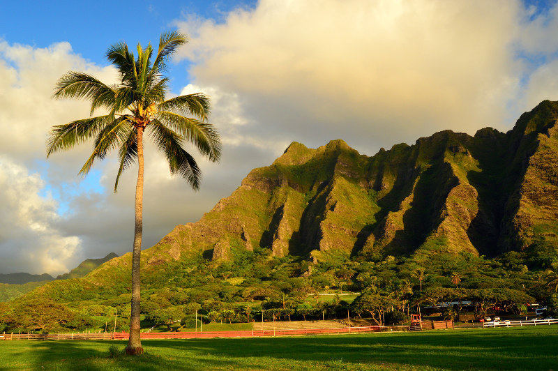 Kualoa Ranch, Ohau, Hawaii