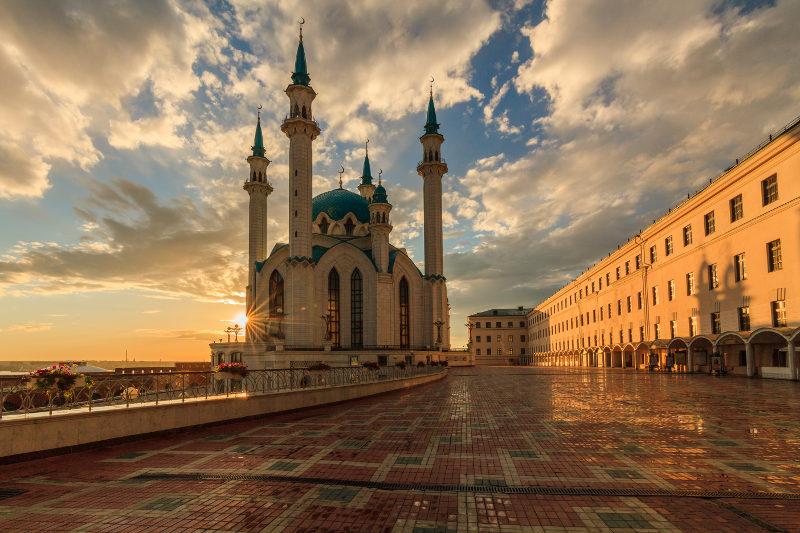 Kul Sharif Mosque in the Kazan Kremlin, Russia