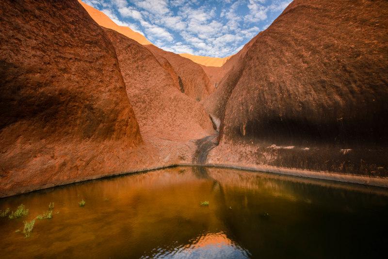 Mutitjulu Waterhole, northern territory