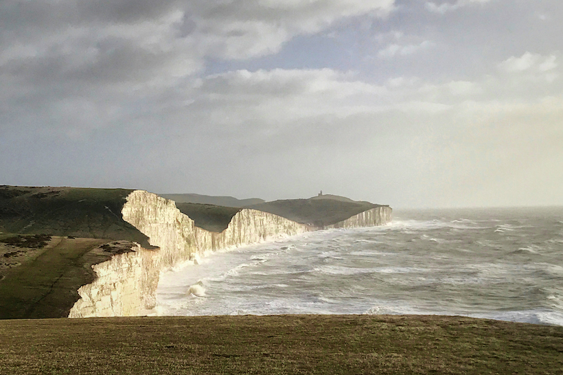 See the moody elegance of the Seven Sisters cliffs and the English Channel.