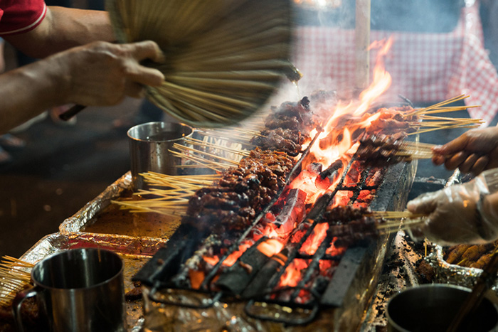 singapore satay food