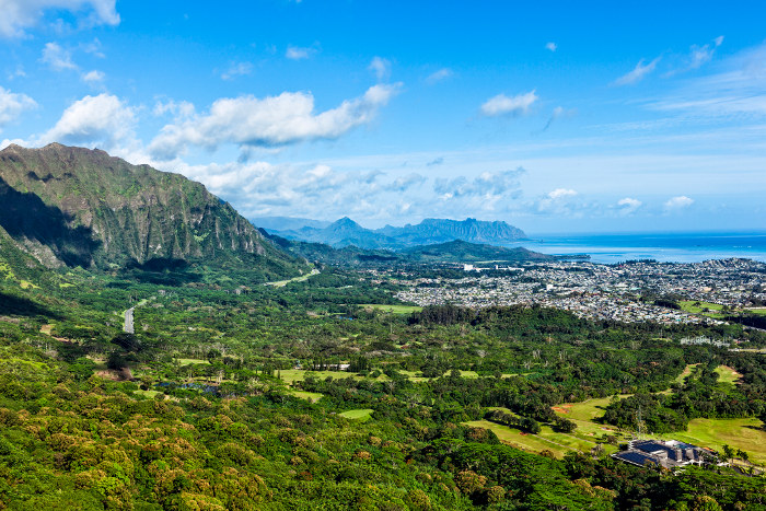 Pali lookout views oahu