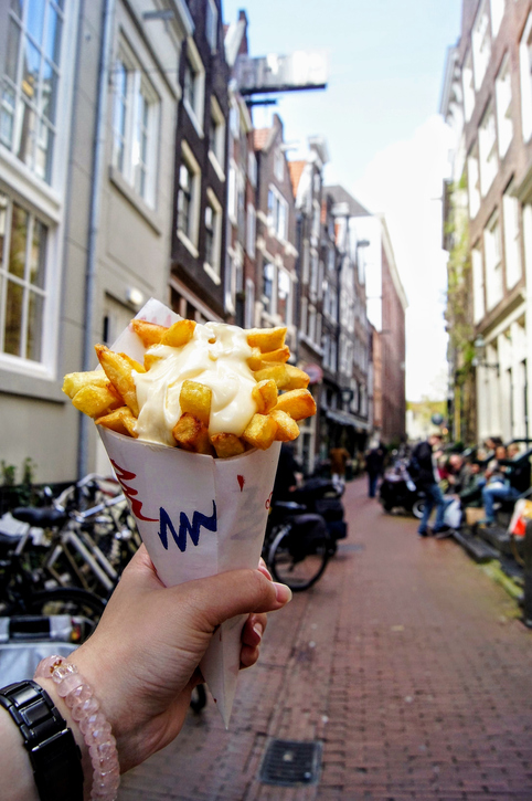 frites in amsterdam